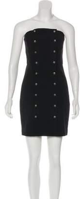 Intermix Strapless Mini Dress