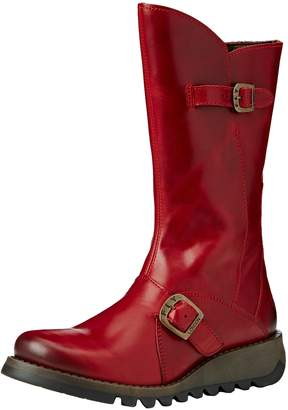 Fly London Womens Mes 2 Leather Boots-UK 3