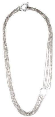 Montblanc Multistrand Toggle Necklace