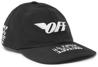 Off-White Logo-Print Gore-Tex Cap