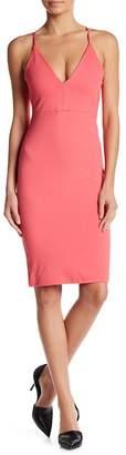 Blvd V-Neck Bodycon Dress