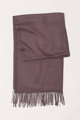 H&M Woven Scarf - Brown