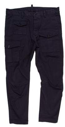 DSQUARED2 Flat Front Cargo Pants w/ Tags