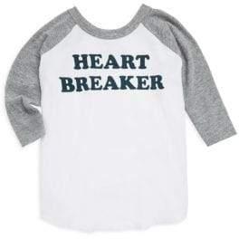 Chaser Little Boy's & Boy's Heart Breaker Raglan Top