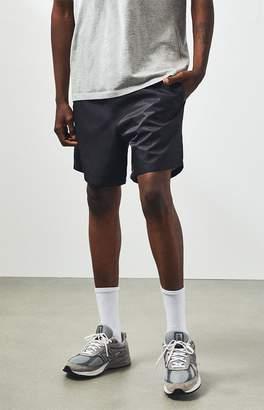 PacSun Black Nylon Volley Shorts