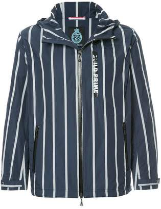 GUILD PRIME striped lightweight jacket