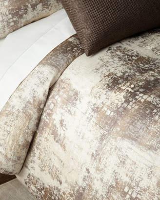 Fino Lino Linen & Lace Amazonia Queen Duvet Cover