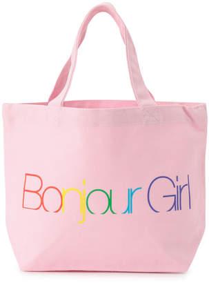 Bonjour Records (ボンジュール レコーズ) - ボンジュールレコード 【Bonjour Girl】LOGO TOTE S