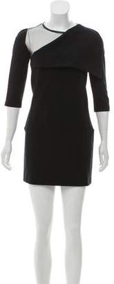Givenchy Long Sleeve Mini Dress