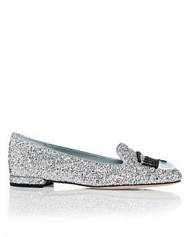 Chiara Ferragni Flirting Slipper - Updated With Embroidered Eyes