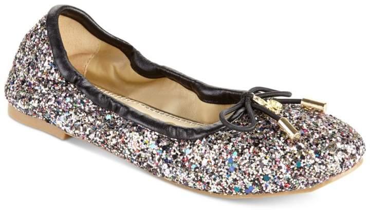 Sam Edelman Felicia Glitter Ballet Flats, Little Girls (11-3) and Big Girls (3.5-7)