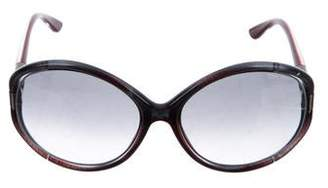 Tom Ford Sandrine Oversize Sunglasses