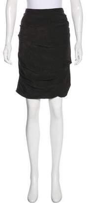 Akris Knee-Length Pencil Skirt