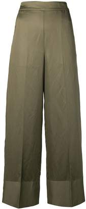 Semi-Couture Semicouture high waisted wide leg trousers