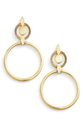 Badgley Mischka Geometric Drop Earrings