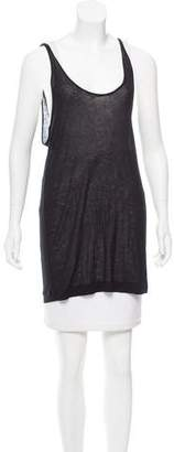 Kimberly Ovitz Sleeveless Scoop Neck Top w/ Tags
