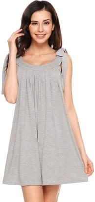 Meaneor Swing T-Shirt Flowy Summer Beach Plus Size Dress