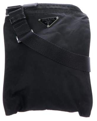 Prada Mini Tessuto Crossbody Bag