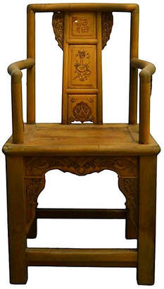 One Kings Lane Vintage Antique Chinese Chair - FEA Home