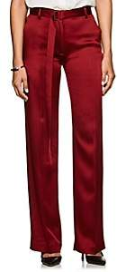 Boon The Shop Women's Crepe Wide-Leg Trousers - Red
