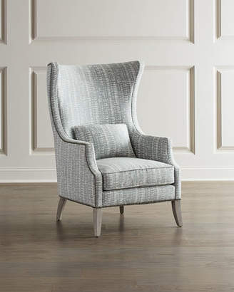 Bernhardt Mona Wing Chair