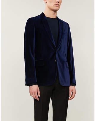 Paul Smith Soho-fit velvet blazer