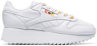 Reebok white x Gigi Hadid Classic chunky leather low-top sneakers