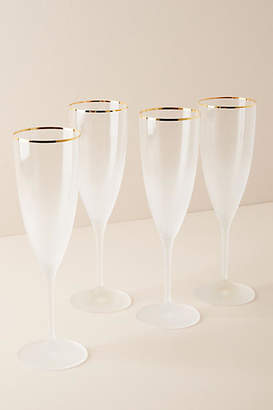 Anthropologie Dobra Flutes, Set of 4
