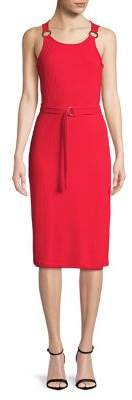 MICHAEL Michael Kors Ribbed Bodycon Dress