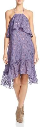 Ella Moss Stargazer Silk-Blend Halter Dress - 100% Exclusive $248 thestylecure.com