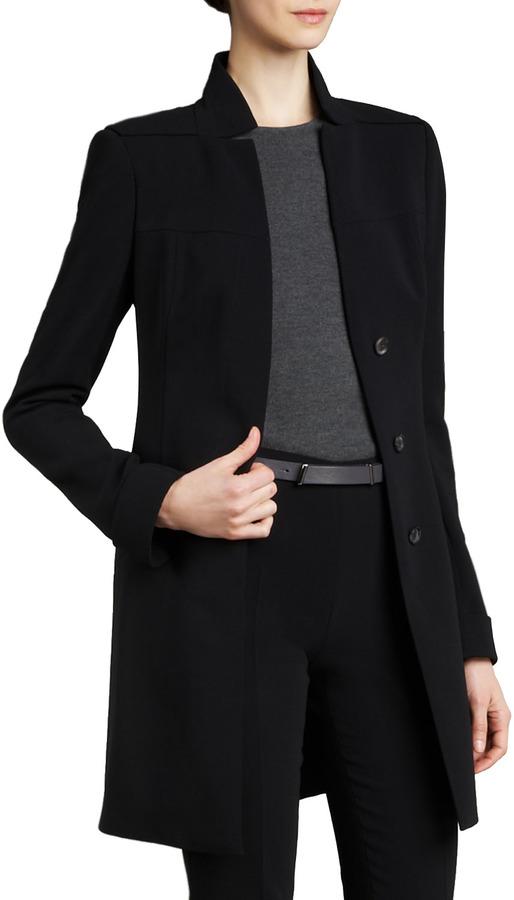Akris Long Button Jacket