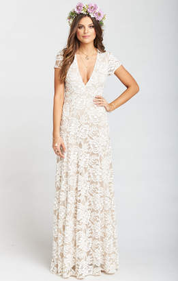 Show Me Your Mumu Eleanor Maxi Dress ~ Lovers Lace Show Me The Ring