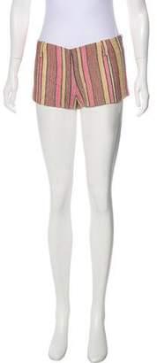 Missoni Mid-Rise Linen-Blend Shorts