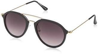 Morgan A.J. Sunglasses Unisex-Adult Reserve 40169-BLK Aviator Sunglasses