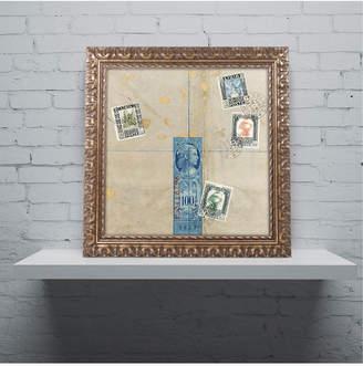 """Nick Bantock 'Middle East' Ornate Framed Art, 16"""" x 16"""""""