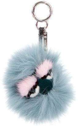 FendiFendi Lagoon Mini Eyelash Monster Bag Charm