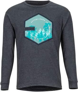 Marmot Men's Deep Forest Long-Sleeve T-Shirt