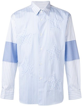 Comme des Garcons Stripe and Stars shirt