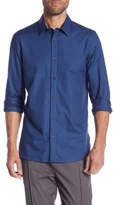 Calvin Klein Plaid Long Sleeve Shirt