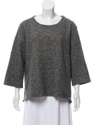 Paul & Joe Oversize Knit Sweatshirt