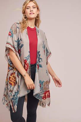 Anthropologie Versailles Floral Kimono