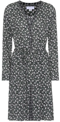 Velvet Mariyah floral printed crepe dress
