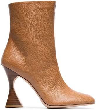Sies Marjan toffee brown emma 100 leather boots