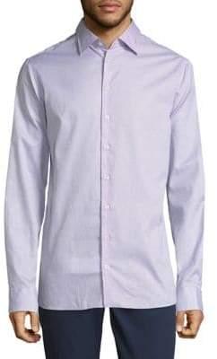 Giorgio Armani Cotton Casual Button-Down Shirt