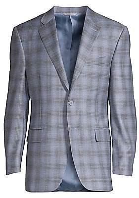 Canali Men's Windowpane Wool Sportcoat