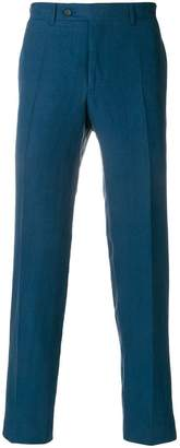 Canali regular trousers