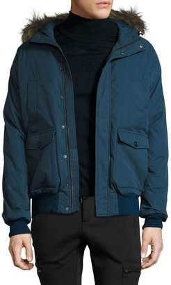 Pyrenex Men's Mistral Jacket with Fur