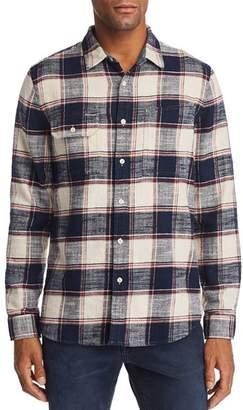 AG Jeans Colton Plaid Regular Fit Work Shirt