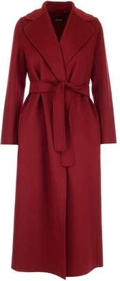 Max Mara 'S Long Belted Coat