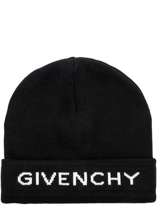 at Forward By Elyse Walker · Givenchy Logo Beanie ab34d34fcbf2
